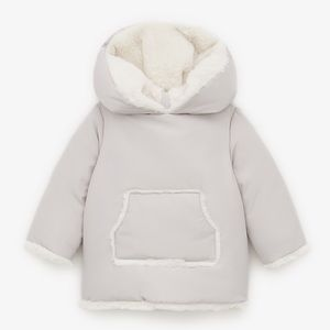 ZARA baby pocket puffer jacket